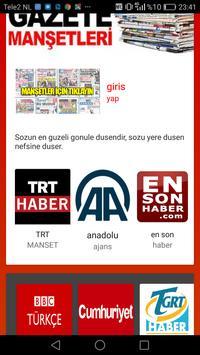 Rss TURK  kaynak haberler poster