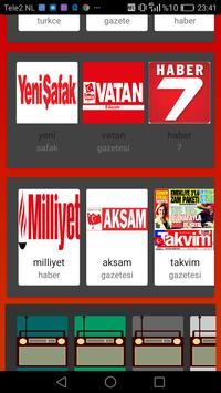 Rss TURK  kaynak haberler screenshot 2