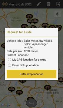 Mesra Cab Passenger screenshot 3