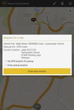 Mesra Cab Passenger screenshot 6