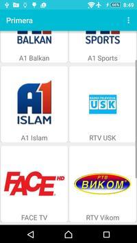 Primera TV Network apk screenshot