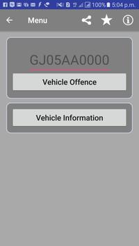 RTO Vehicle Info And Offence poster