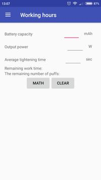 Vape Helper by Alex apk screenshot