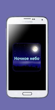 Ночное небо poster