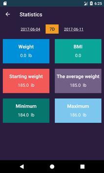 Ideal Weight, BMI screenshot 4