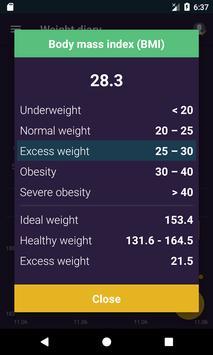 Ideal Weight, BMI screenshot 1
