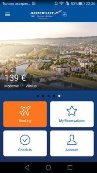 Aeroflot — Online Tickets poster