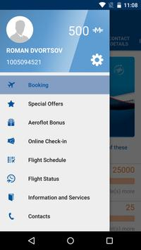 Aeroflot — Online Tickets apk screenshot