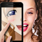Anime face maker icon