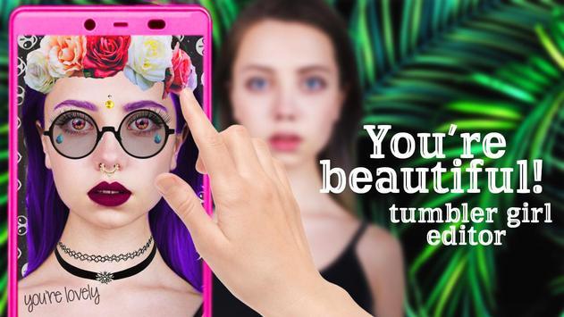 Tumbler girl editor screenshot 5