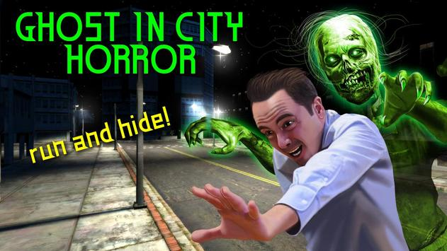 Ghost In City Horror poster
