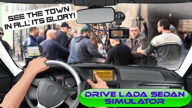Drive LADA Sedan Simulator apk screenshot