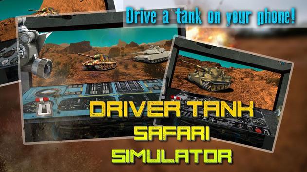 Driver Tank Safari Simulator apk screenshot