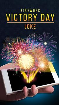 Firework Victory Day Joke poster