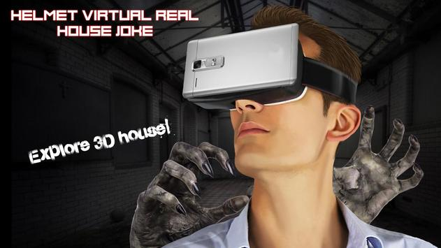 Helmet Virtual Real House Joke apk screenshot