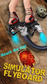 Simulator Flyboard poster