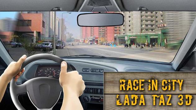 Race In City LADA TAZ 3D apk screenshot