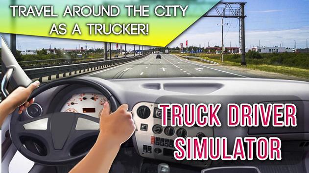 Truck Driver Simulator poster