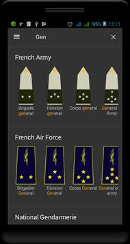 Military ranks of France 截圖 2
