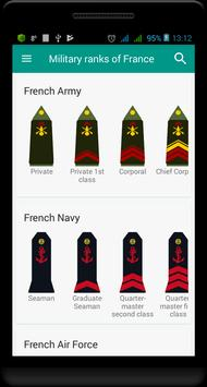 4 Schermata Military ranks of France