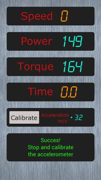 Measure power of car Demo apk screenshot