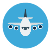 Air tickets - search 2018 icon