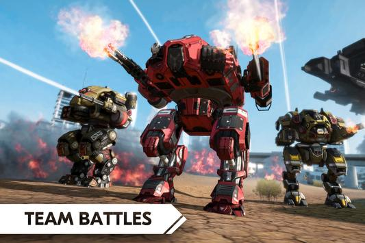 ROBOT WARS ONLINE! poster