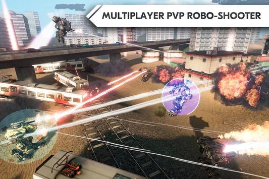 ROBOT WARFARE ONLINE apk screenshot