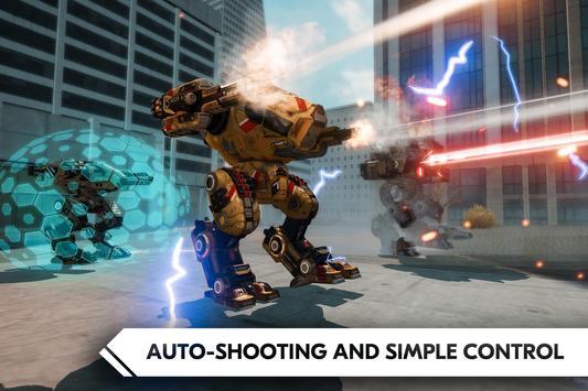 ROBOT WARS ONLINE! apk screenshot