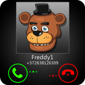 Fake Call Freddy Joke icon