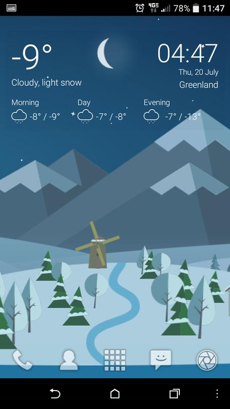 Animated Landscape Weather Live Wallpaper Free For Android