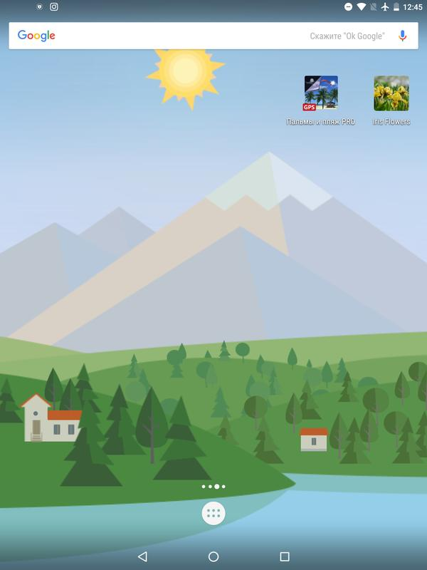 animated landscape weather live wallpaper free apk