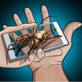 Spider Hand Fear Joke icon