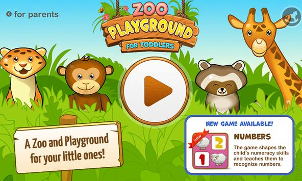 Zoo Playground: Games for kids poster