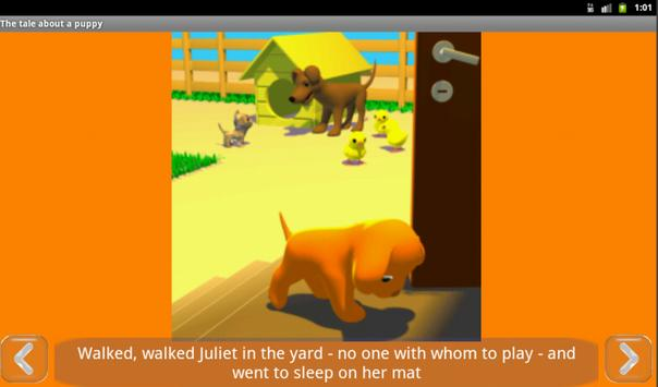 A tale about the puppy, free screenshot 3