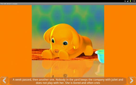 A tale about the puppy, free screenshot 2