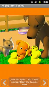 A tale about the puppy, free apk screenshot