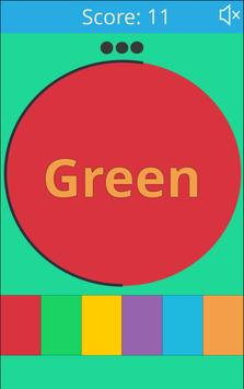 Color Word poster