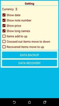 Wish List apk screenshot