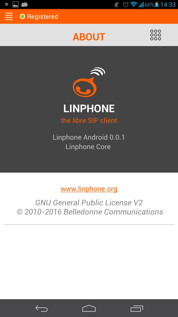 LinPhone Demo for Android - APK Download