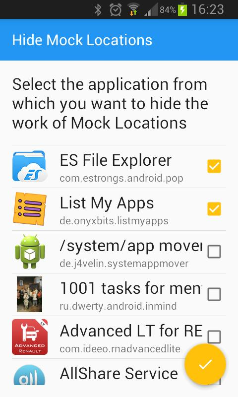 hide mock location module for xposed (1mb)