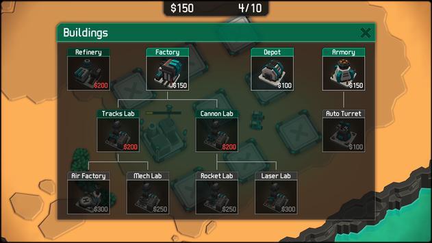 MechCom 2 - 3D RTS スクリーンショット 1