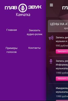 ГЛАВЗВУК - продакшн студия screenshot 1