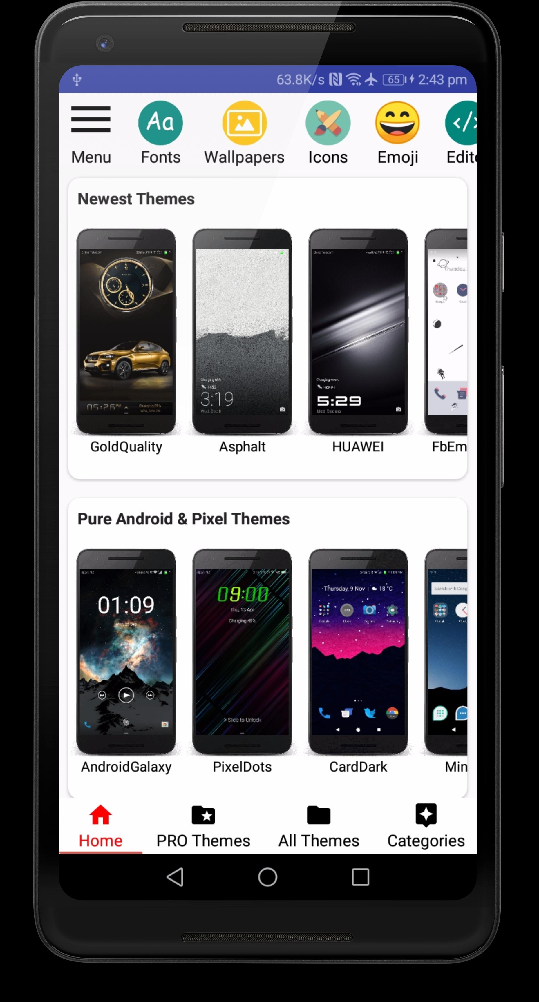 Themes Manager For HUAWEI EMUI for Android - APK Download