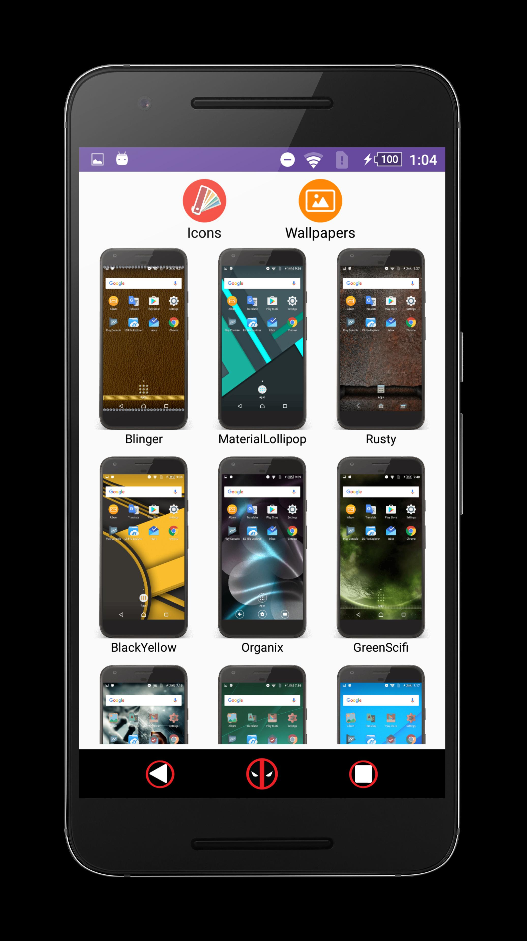 Xperia Themes Catalog For Android Apk Download