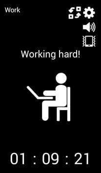 Work-time manager apk screenshot