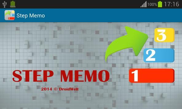 StepMemo poster
