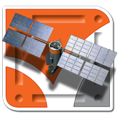 AR satellite icon