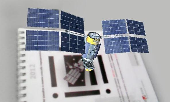 AR satellite screenshot 1