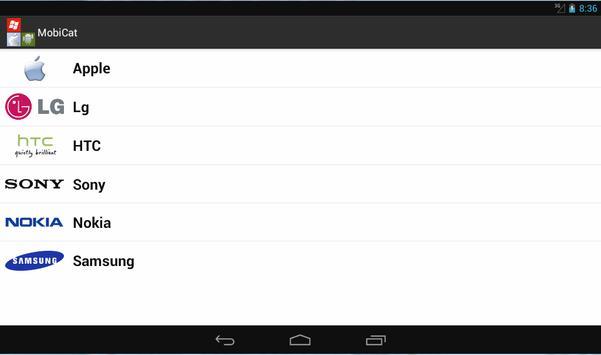 Mobile Catalog apk screenshot